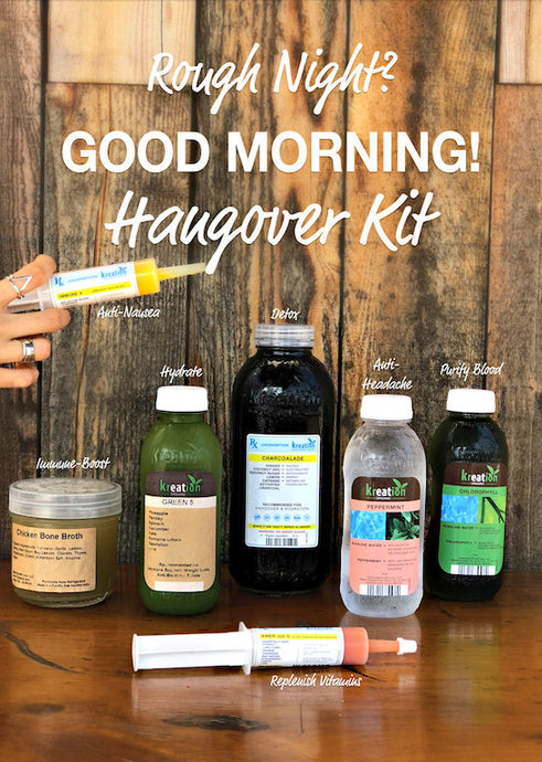 Rough Night? You're in Luck! 🍀Hangover Kit