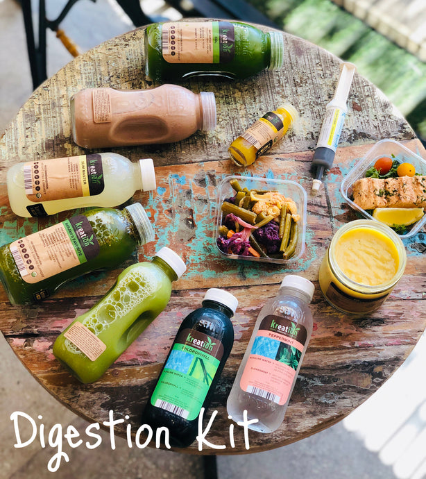 Digestion Kit: Go with your GUT!