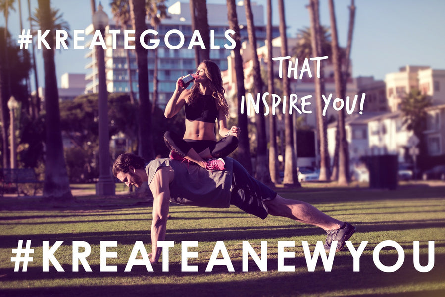 #KREATEGOALS TO #KREATEANEWYOU THIS YEAR!