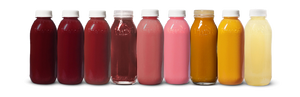 kreation juices lined up