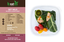 Load image into Gallery viewer, Get Wild Salmon & Quinoa Wrap