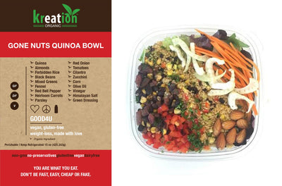 Gone Nuts Quinoa Bowl