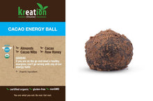 Load image into Gallery viewer, Cacao Energy Ball
