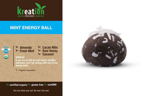 Mint Energy Ball