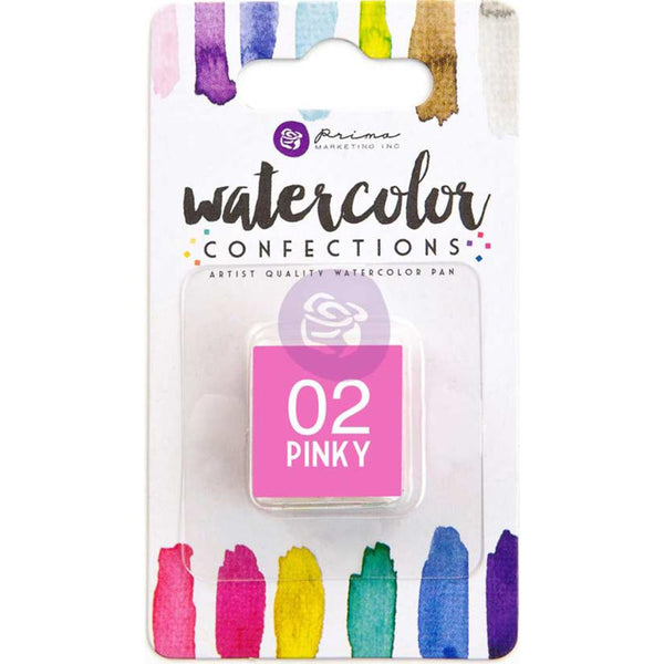 Prima Watercolor Confections Watercolor Pan Refill - #2 Pinky - Artified Shop