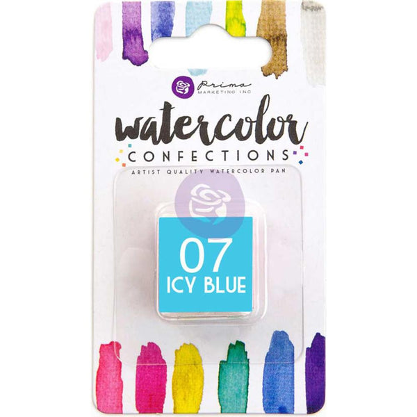 Prima Watercolor Confections Watercolor Pan Refill - 07 Icy Blue - Artified Shop