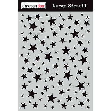 Darkroom Door Large Stencil - Starry Night