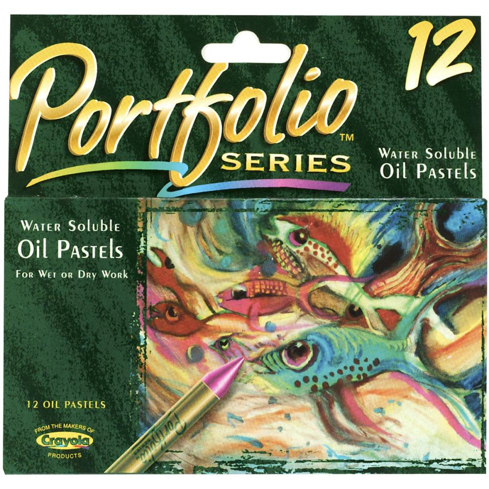 12 Pack Crayola Portfolio Series Oil Pastels - Artified Shop