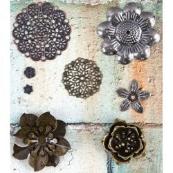 Flowers Prima Mechanicals Metal Embellishments - Artified Shop