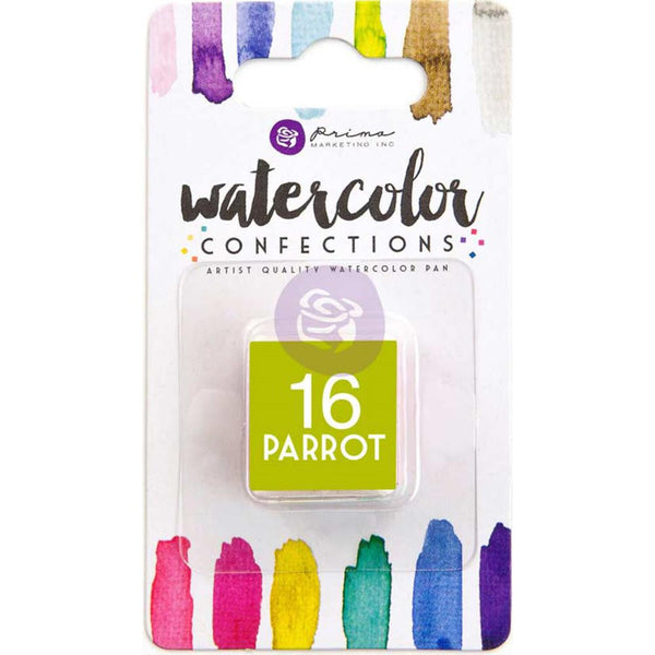 Prima Watercolor Confections Watercolor Pan Refill #16 Parrot - Artified Shop