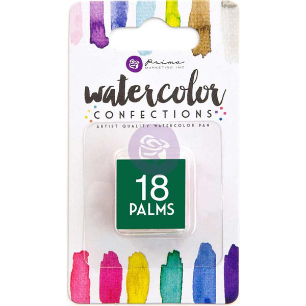 Prima Watercolor Confections Watercolor Pan Refill #18 Palms - Artified Shop