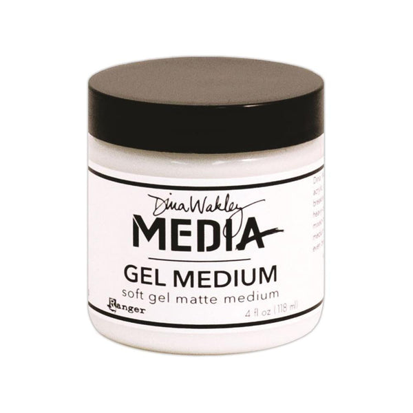 Dina Wakley Media Matte Gel Medium 4oz Jar - Artified Shop