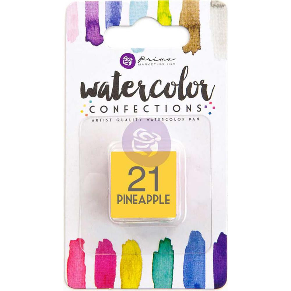 Prima Watercolor Confections Watercolor Pan Refill #21 Pineapple - Artified Shop