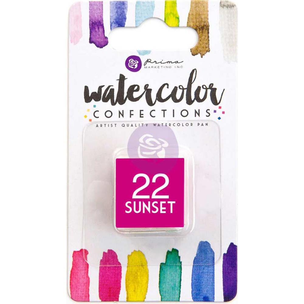 Prima Watercolor Confections Watercolor Pan Refill #22 Sunset - Artified Shop