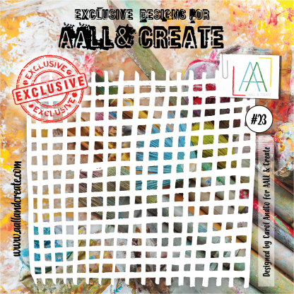 AALL & Create Stencil #23 by Carol AndCo - Artified Shop