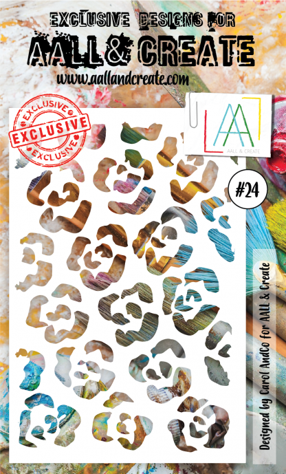 AALL & Create Stencil #24 by Carol AndCo - Artified Shop