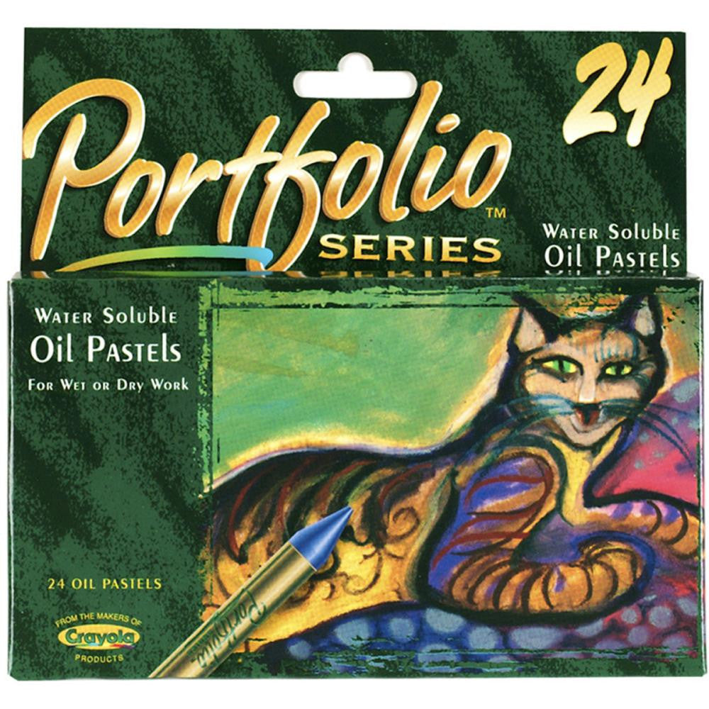 24 Pack Crayola Portfolio Series Oil Pastels - Artified Shop  [product_venor]