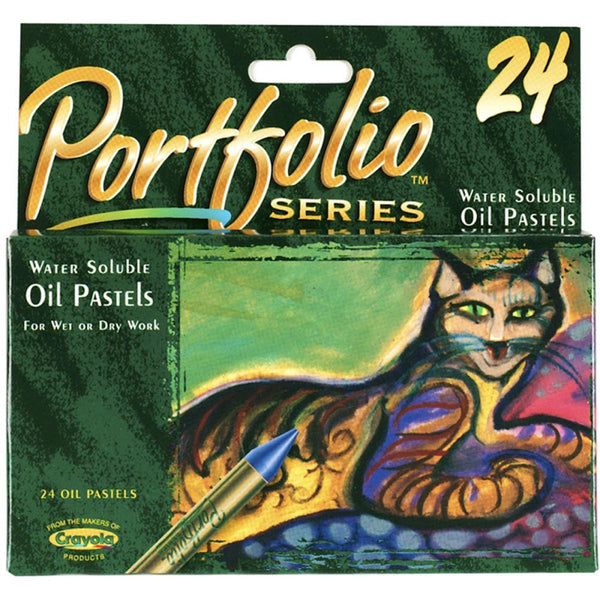 24 Pack Crayola Portfolio Series Oil Pastels - Artified Shop