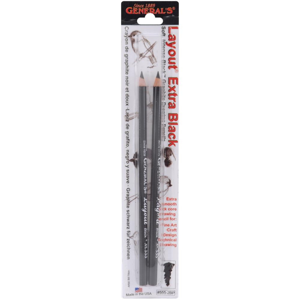 Layout Graphite Drawing Pencils 2/Pkg - Artified Shop