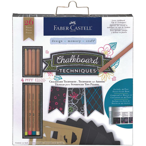 Mix & Match Pitt Pastel Pencil Chalkboard Journal Kit 26pc