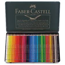 Faber-Castell Polychromos Pencils, Tin Of 36 - Artified Shop
