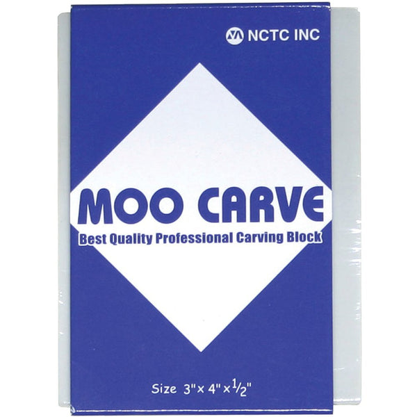 Moo Carve Professional Carving Block 3x4""