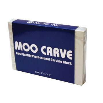 Moo Carve Professional Carving Block 4x6""