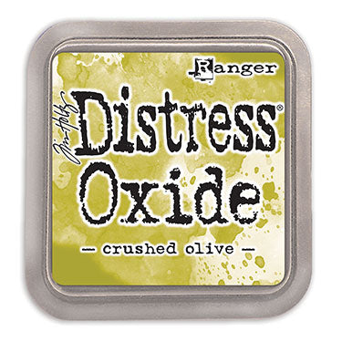 Tim Holtz Distress Oxides Ink Pad - Crushed Olive - Artified Shop