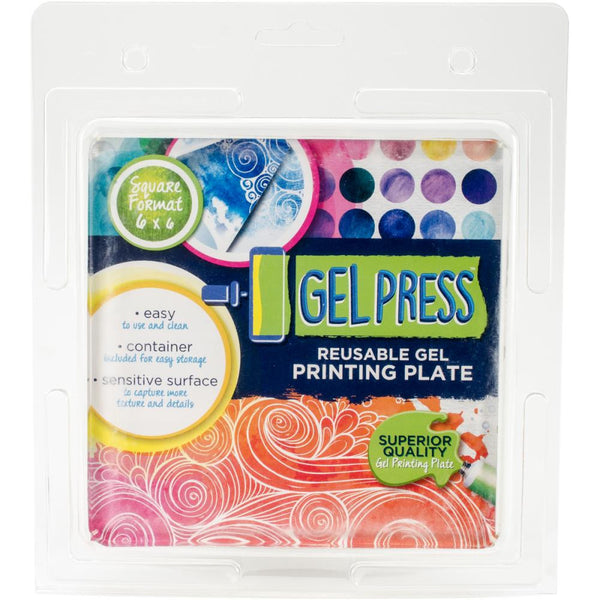 "PolyGel Gel Plate 6""x6"" - Artified Shop"