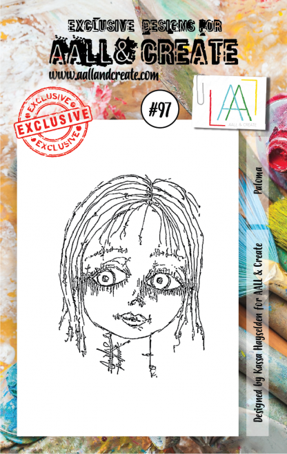 AALL & Create Stamp set A7 #97 (Paloma) by Kassa Hayselden - Artified Shop