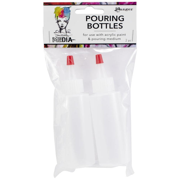 Dina Wakley Media Pouring Bottles Set 2/Pkg - Artified Shop