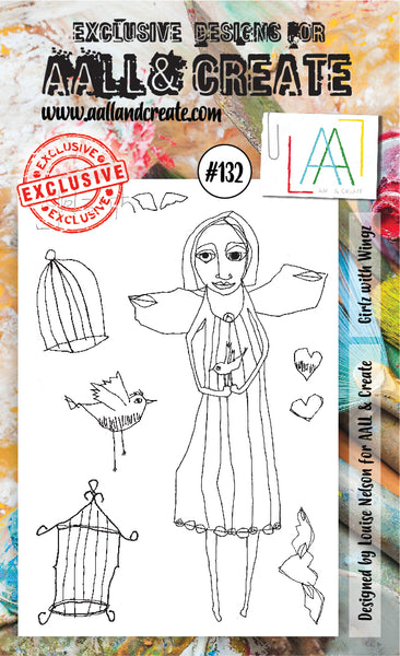 AALL & Create Stamp Set A6 #132 by Louise Nelson - Artified Shop