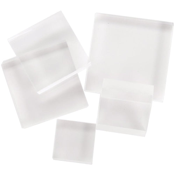 Acrylic Block Set 5/Pkg - Artified Shop
