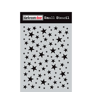 Darkroom Door Small Stencil - Starry Night
