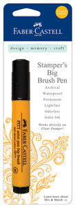 Chrome Yellow Stampers Big Brush Pen - Artified Shop