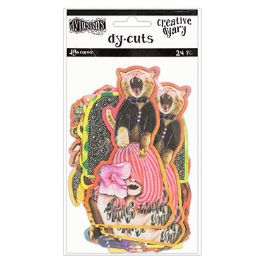 Dylusions Creative Dyary Dy-Cuts - Set 6 - Artified Shop