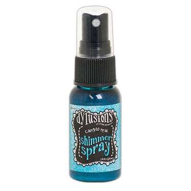 Dylusions By Dyan Reaveley Shimmer Sprays 1oz - Calypso Teal - Artified Shop