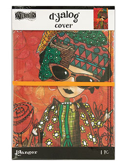 Dyan Reaveley's Dylusions Dyalog Canvas Printed Cover Dream - Artified Shop