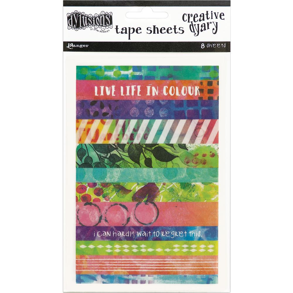 Dyan Reaveley's Dylusions Dyary Tape Strips - Artified Shop