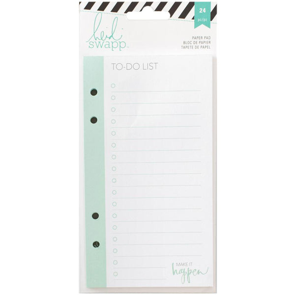 Heidi Swapp Memory Planner List Pad 24/Pkg - To Do - Artified Shop