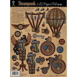 3D Papier Tole Die-Cuts Steampunk - Artified Shop