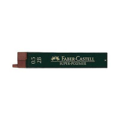 FABER-CASTELL POLYMER LEAD 0.5mm 2B Tube 12
