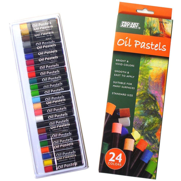 Pro Art Oil Pastels 24/Pkg - Artified Shop