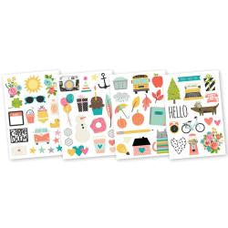 Illustrated Life Stickers - Carpe Diem - Artified Shop