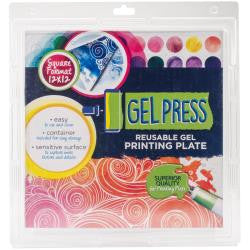 "Gel Press Gel Plate 12x12"" - Artified Shop"