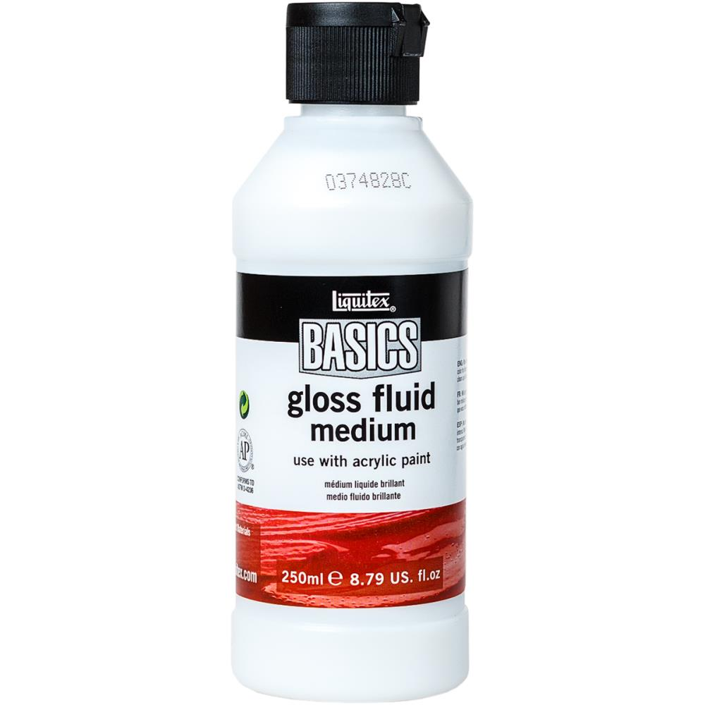 Liquitex BASICS Gloss Fluid Medium 250ml - Artified Shop