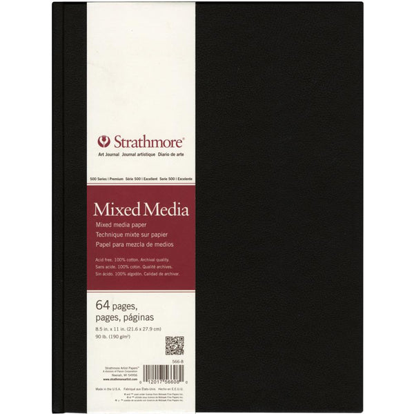 "Strathmore Mixed Media Art Journal 8.5""X11"" - Artified Shop"