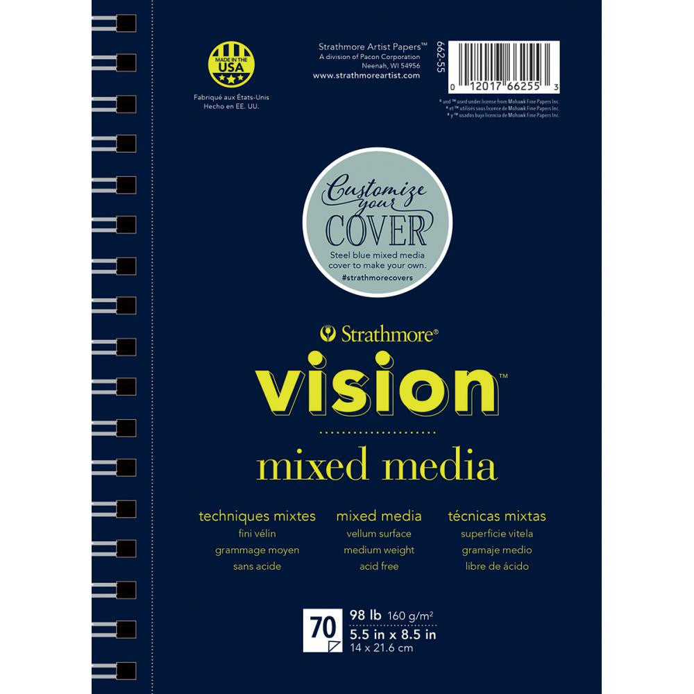 "Strathmore Vision Mixed Media Pad 5.5""X8.5"" - Artified Shop"