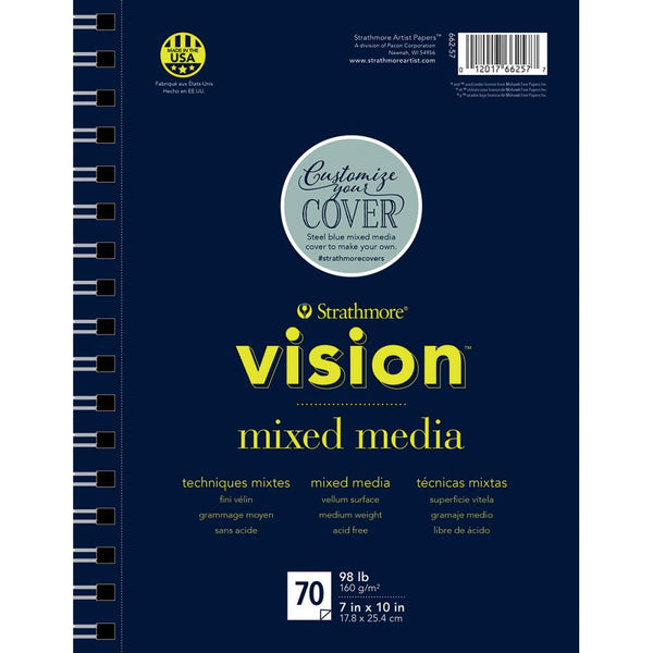 "Strathmore Vision Mixed Media Pad 7""X10"" - Artified Shop"