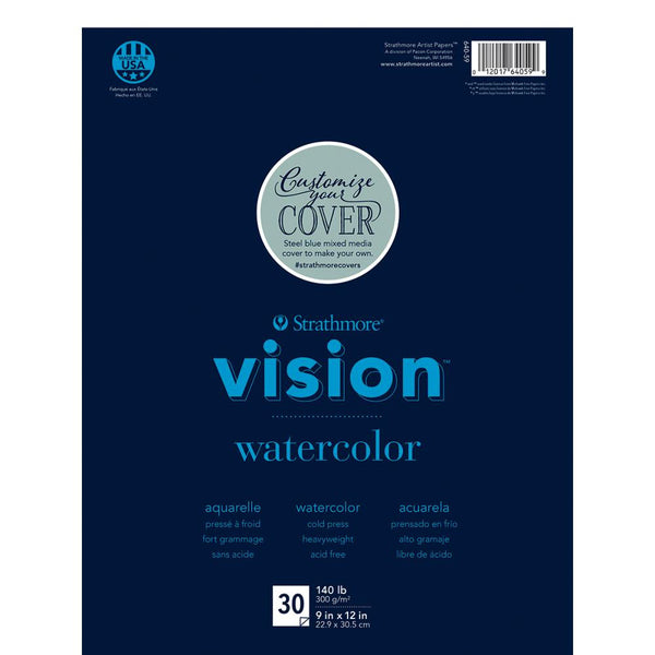 "Strathmore Vision Watercolor Pad 9""X12"" - Artified Shop"